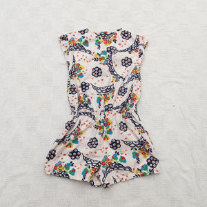 Mini Boden One Pieces - Mini Boden 11-12 Years Cotton Floral Romper